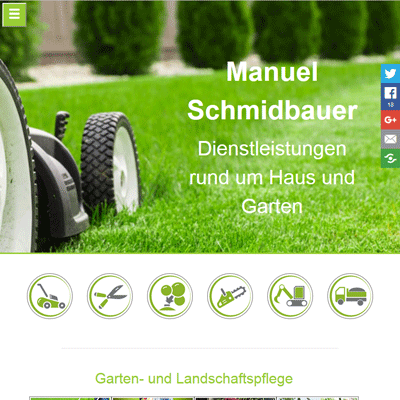 Garten- und Landschaftspflege Schmidbauer